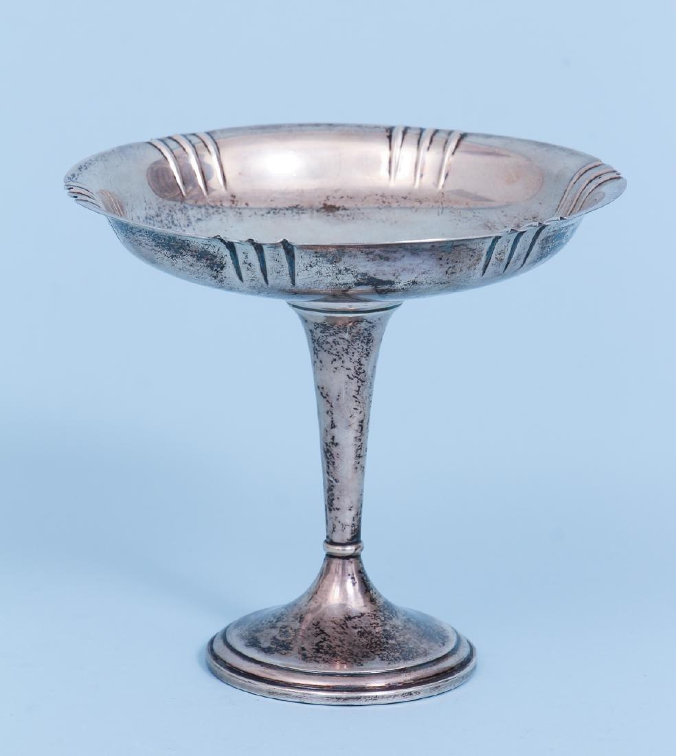 Redlich Sterling Silver Art Deco Compote