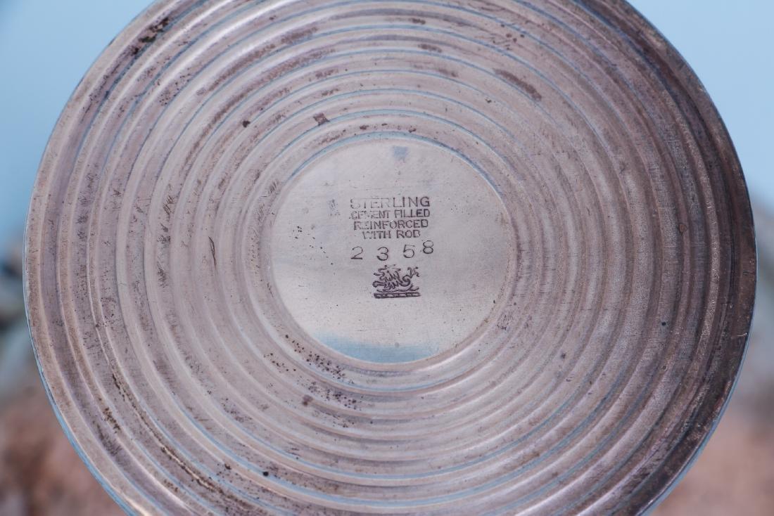 Redlich Sterling Silver Art Deco Compote - 4