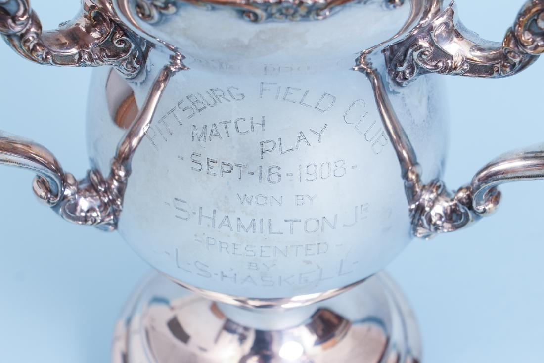 Pittsburgh Field Club Match Play Golf Tyg Trophy - 2