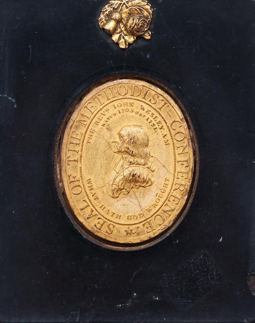 Framed Seal of the Methodist Conference