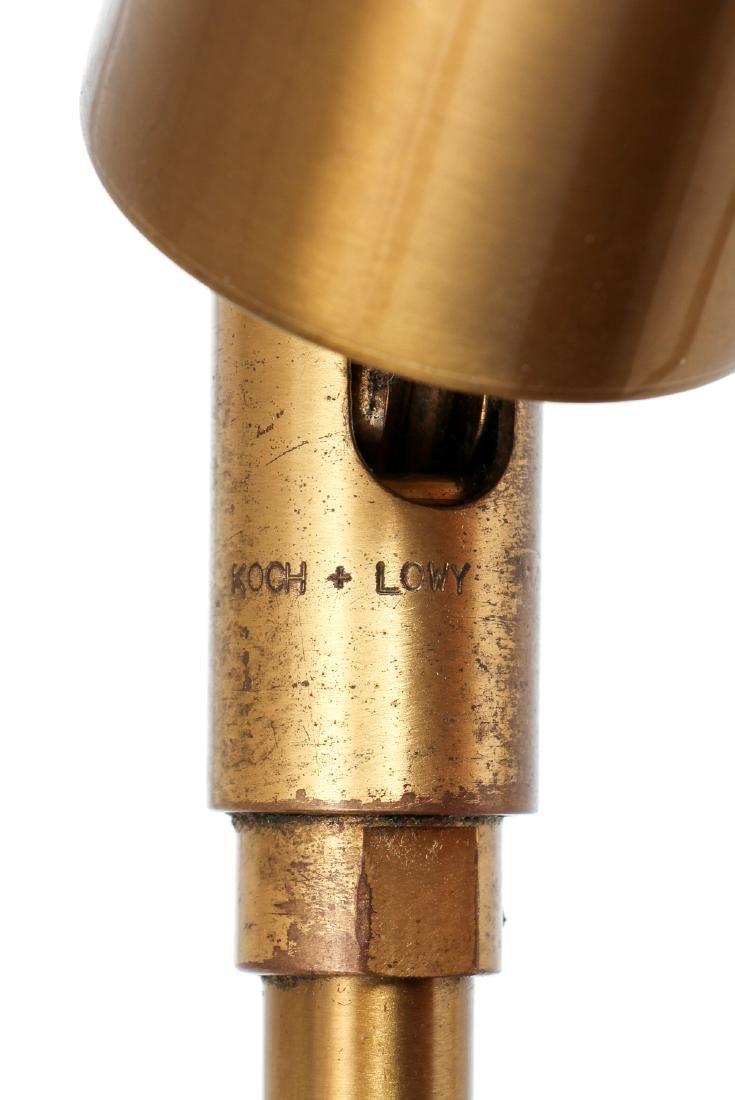 Pair of Koch & Lowy Brass Floor Lamps - 6