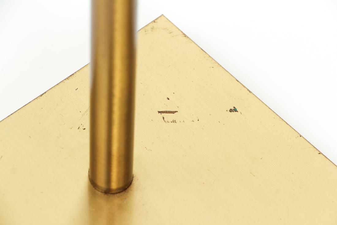 Pair of Koch & Lowy Brass Floor Lamps - 9