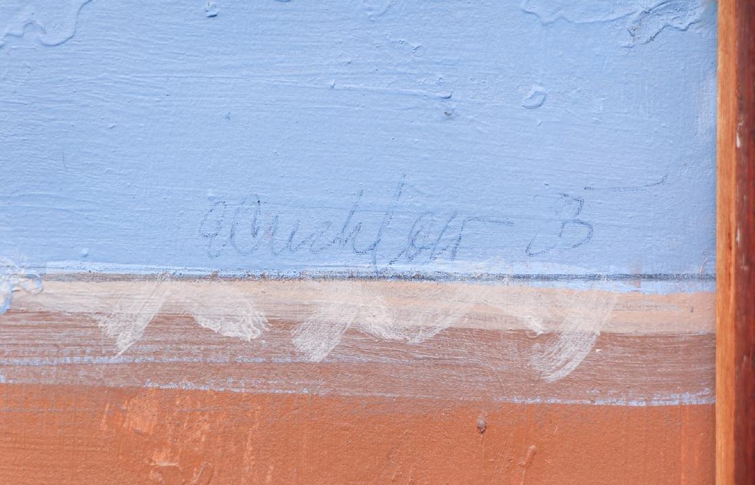 Ernest Crichlow Haitian Noon Oil Painting - 3