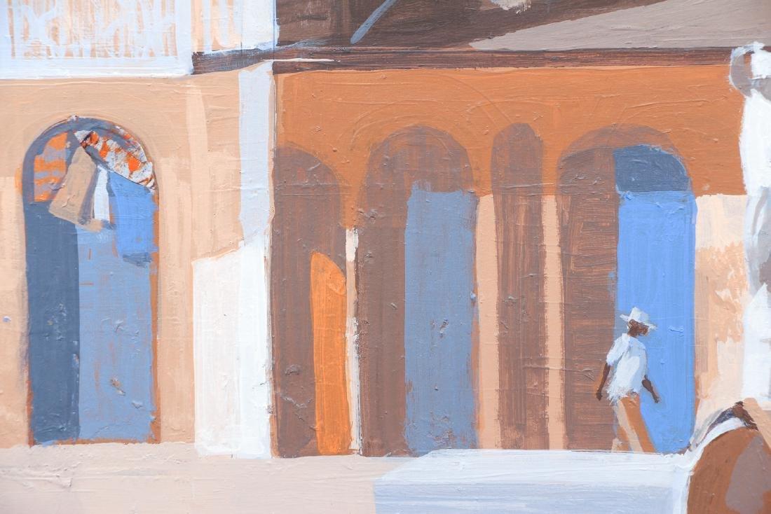 Ernest Crichlow Haitian Noon Oil Painting - 6