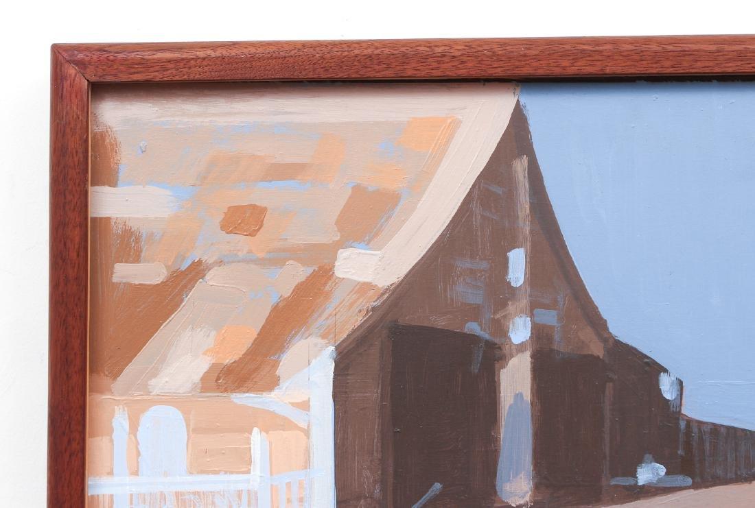 Ernest Crichlow Haitian Noon Oil Painting - 7