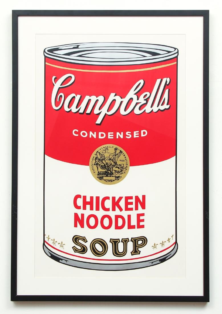 Andy Warhol 1968 Campbell's Chicken Noodle Soup - 2