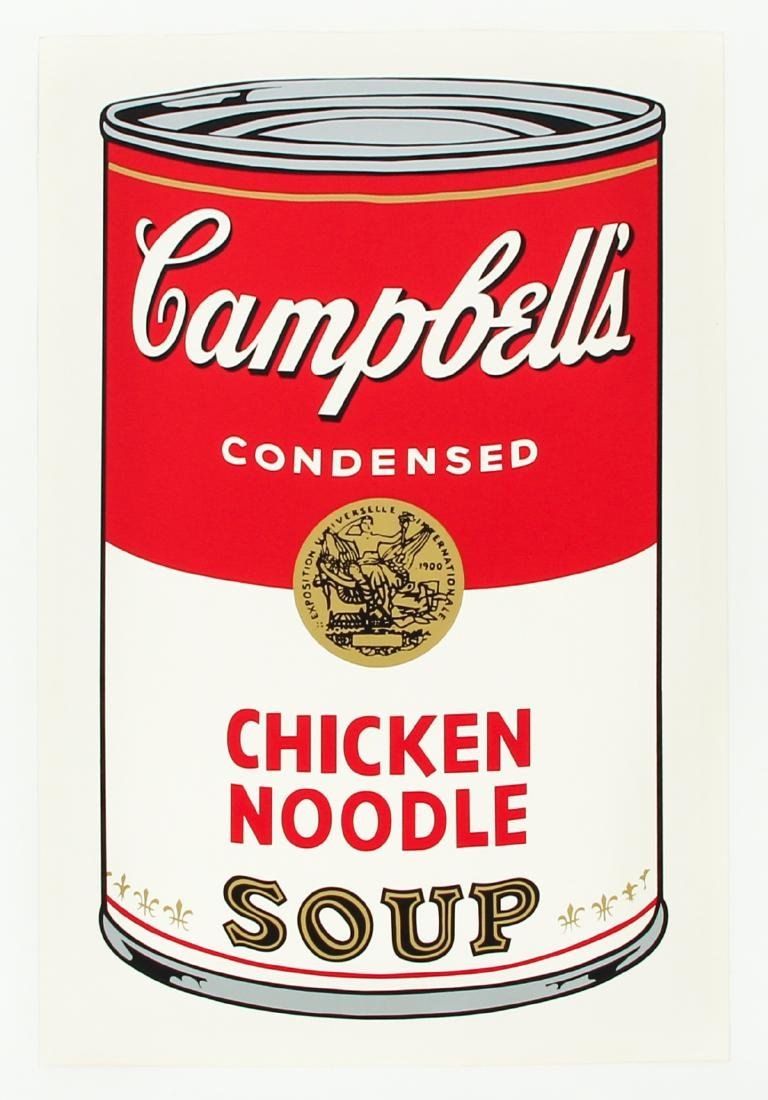 Andy Warhol 1968 Campbell's Chicken Noodle Soup - 3