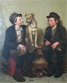 146: Brown, John George (American, 1831-1913)