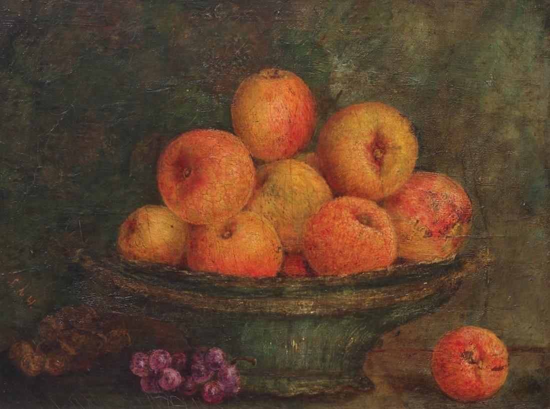 Lila Hetzel Attributed Still Life with Fruit