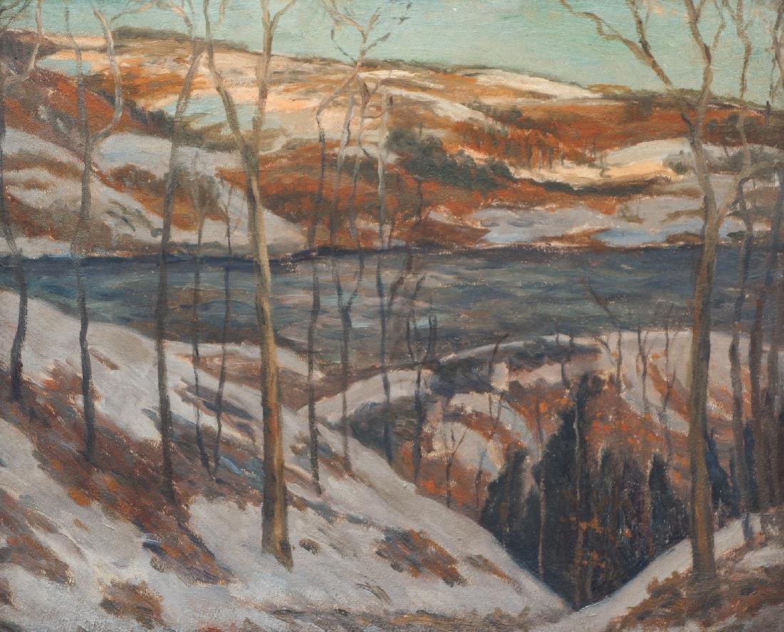 Sarah Shaw Western Pennsylvania Winter Landscape