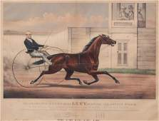 Four Currier and Ives Trotting Scenes