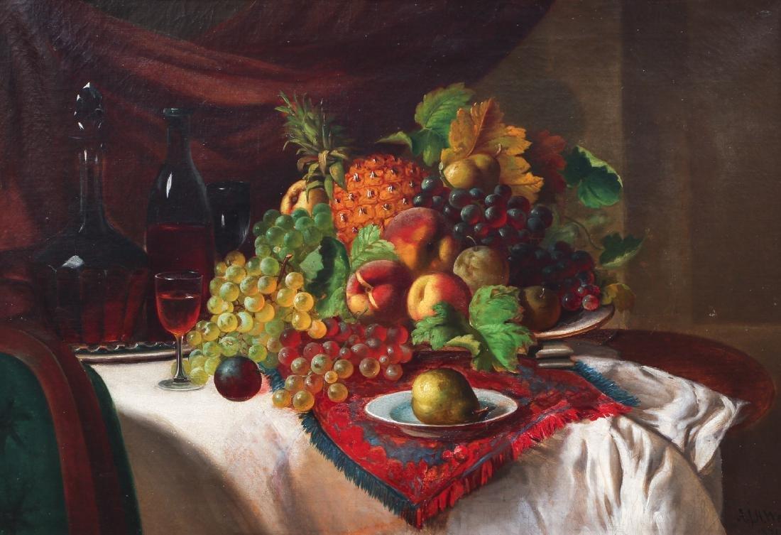Andrew Way Still Life of Fruits