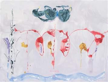 Helen Frankenthaler Signed Aerie Screenprint