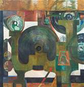 Large Louise Pershing Untitled Abstraction