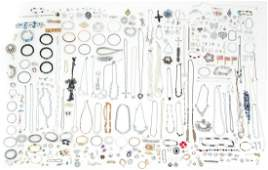 Large Assortment of Miscellaneous Costume Jewelry