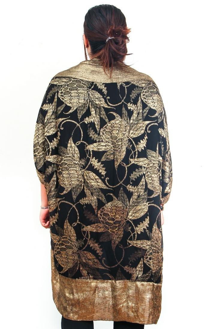Vintage Liberty Paris Gold Lame Robe