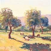 Stan Painter, Sheep Under Apple Trees