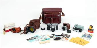 Vintage Voightlander Prominent Camera and Etc