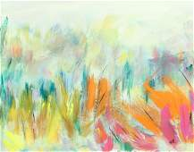 Penelope Ross 2004 painting Marsh Grasses