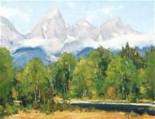Matt Smith Summer Morning Painting