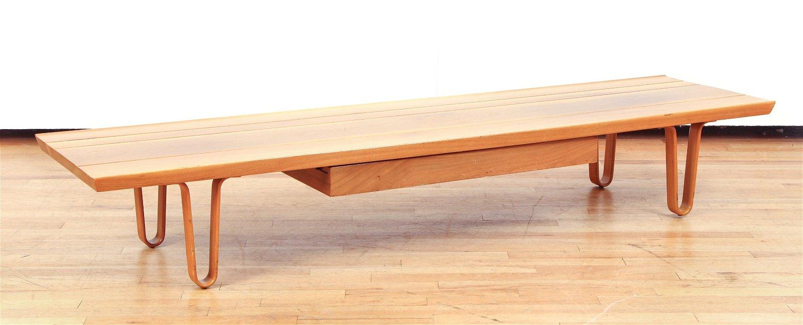 Edward Wormley Dunbar Long John Coffee Table Model 4699