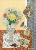Gloria Vanderbilt 1976 collage, The Angel