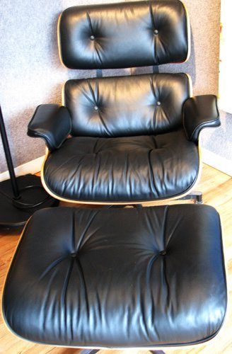 7: Herman Miller Eames Lounge Chair and Ottoman