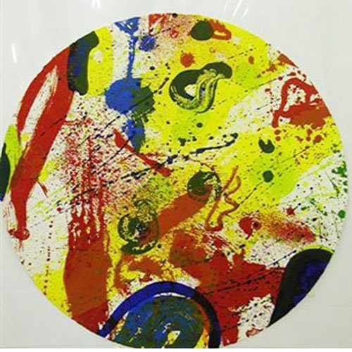 160: Sam Francis Circle Color Litho