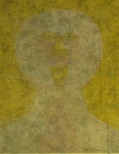 321: Rufino Tamayo Cabeza etching