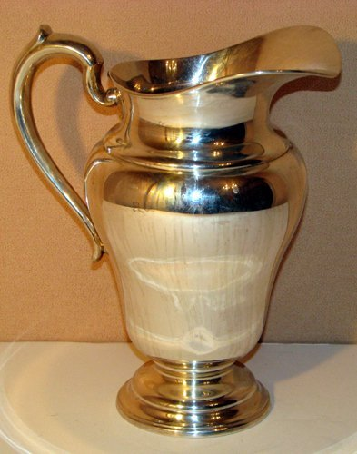 514: Sterling Lebkuecher Water Pitcher
