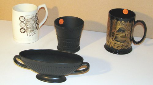 522: 200th Anniversary Wedgwood Mug & other Wedgwood