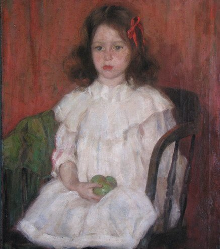 601A: Ivan Olinsky Portrait of Eleanor
