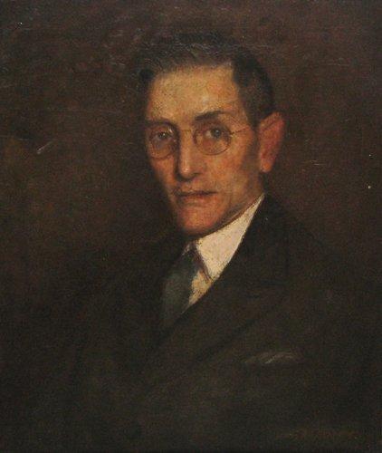 653: Sam Rosenberg portrait of Arthur Sparks