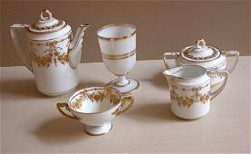 778: Rosenthal Bavaria Empire porcelain tea service