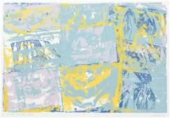 2 Walter Darby Bannard orig silkscreens, signed