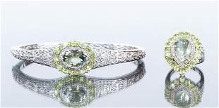 Sterling and Peridot Jewelry