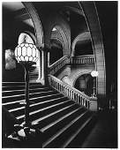 Clyde Hare photo Grand Staircase Richardson Courthouse