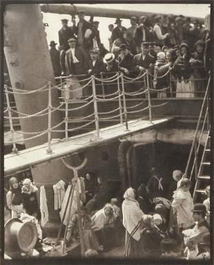 ALFRED STIEGLITZ, photogravure, The Steerage, circa