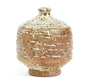 Norman Arsenault Stoneware Glazed Vase