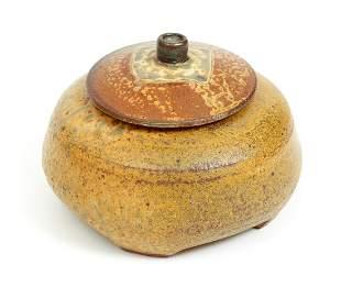 Robert Briscoe Ceramic Lidded Vessel