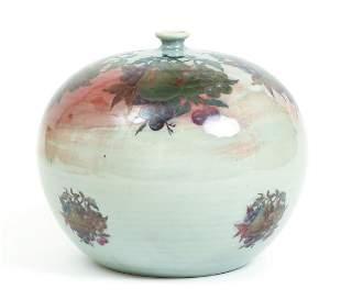 Regis Brodie Painted Ceramic Vessel