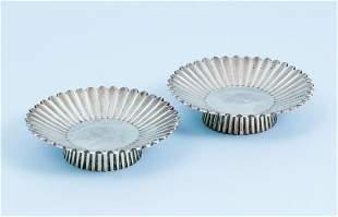 Pair Tiffany Sterling Dessert Bowls