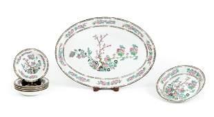 John Maddock Porcelain Platter Bowls