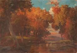 Landscape oil Sketch