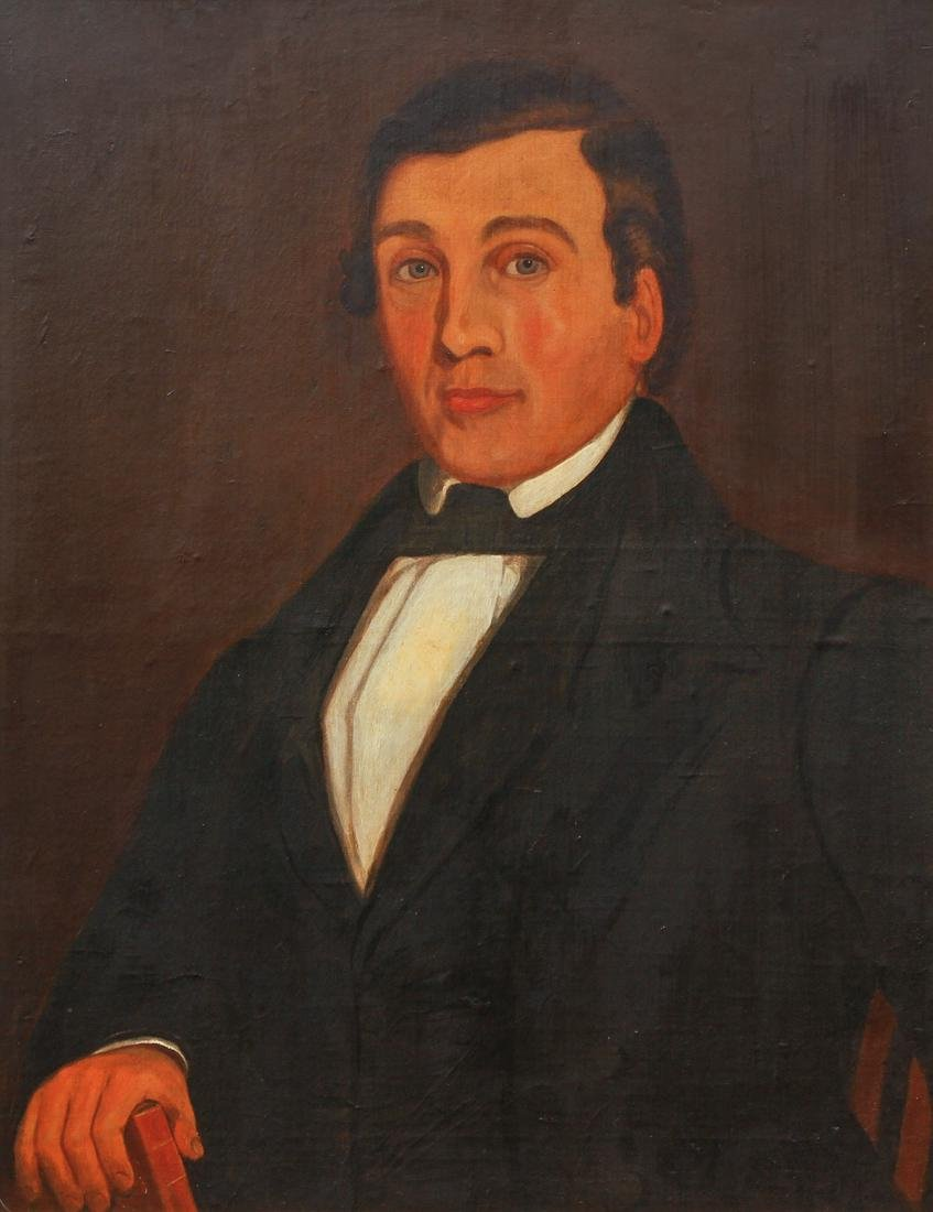 Antique Portrait of a Gentleman