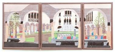 Gideon Cohen triptych Isabella Stewart Gardner Museum