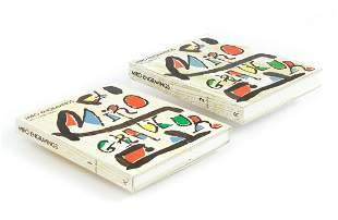 Miro Engravings 2 vols 1928-1973 lithos