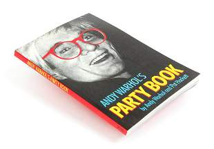 Andy Warhol Party Book First Edition