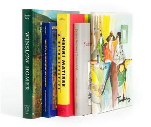 Itzchak Tarkay Lithos Book Lot Van Gogh Homer
