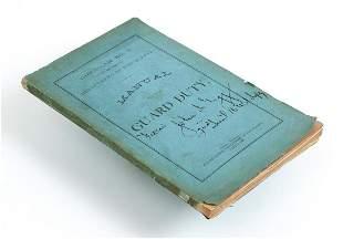 Manual of Guard Duty Omaha 1888 Platte